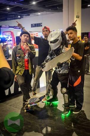 The skate dudes